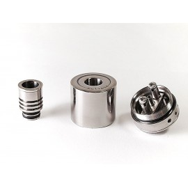 «ECLIPSE» SINGLE RDA [FULL titanium]